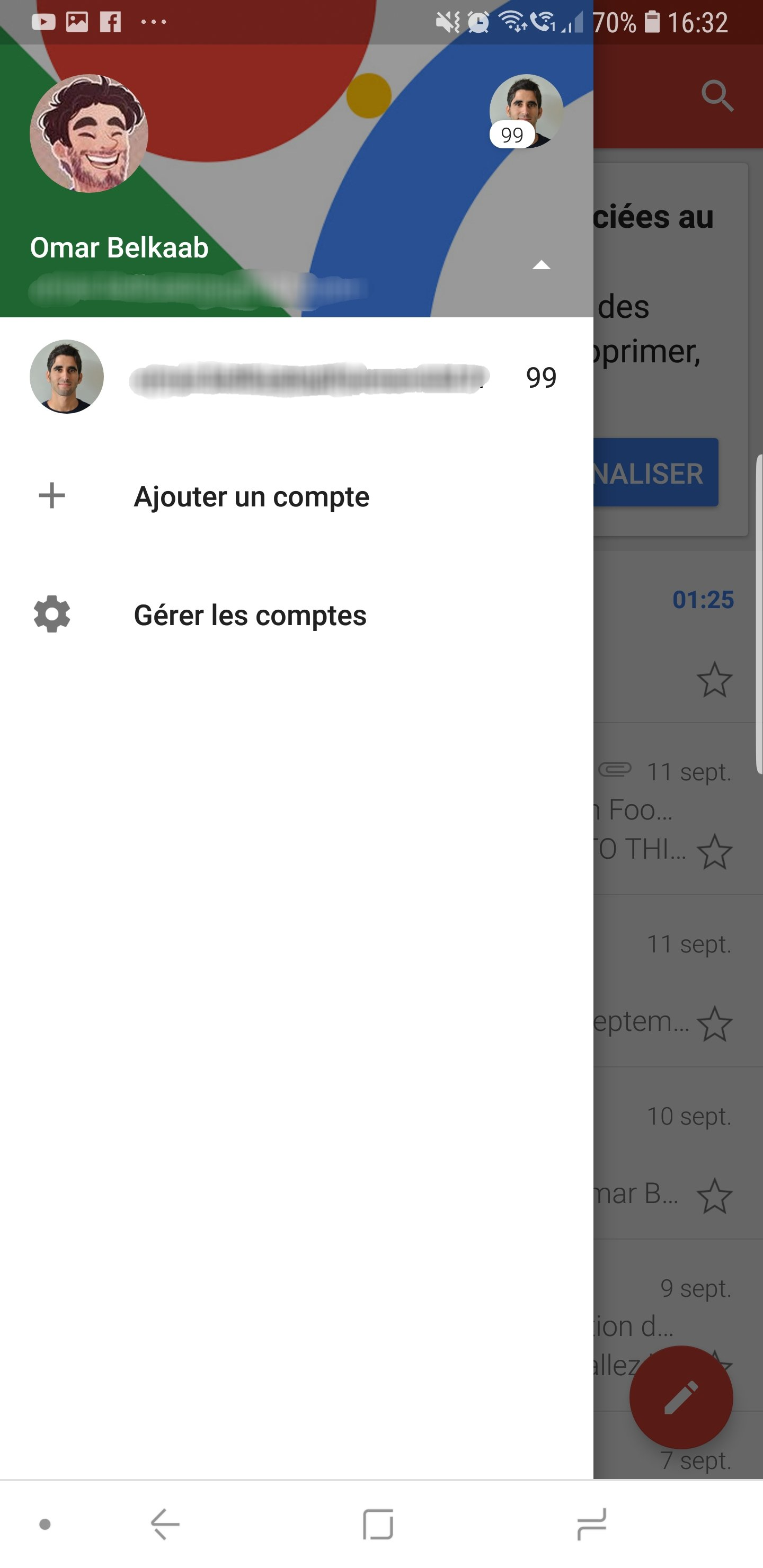 telecharger gmail notifier en francais