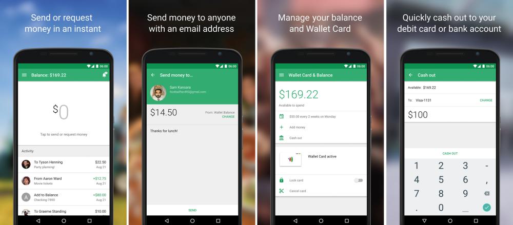google wallet nouvelle appli