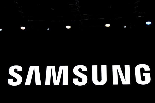 logo Samsung noir