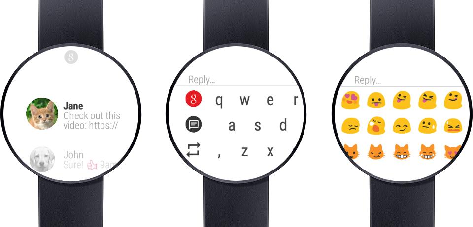 messages pour android wear vous permet de r diger les sms depuis votre poignet frandroid. Black Bedroom Furniture Sets. Home Design Ideas