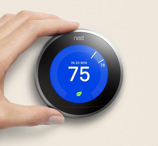 Nest un nouveau thermostat et des solutions pour une maison connect e et s curis e frandroid - Thermostat connecte nest ...