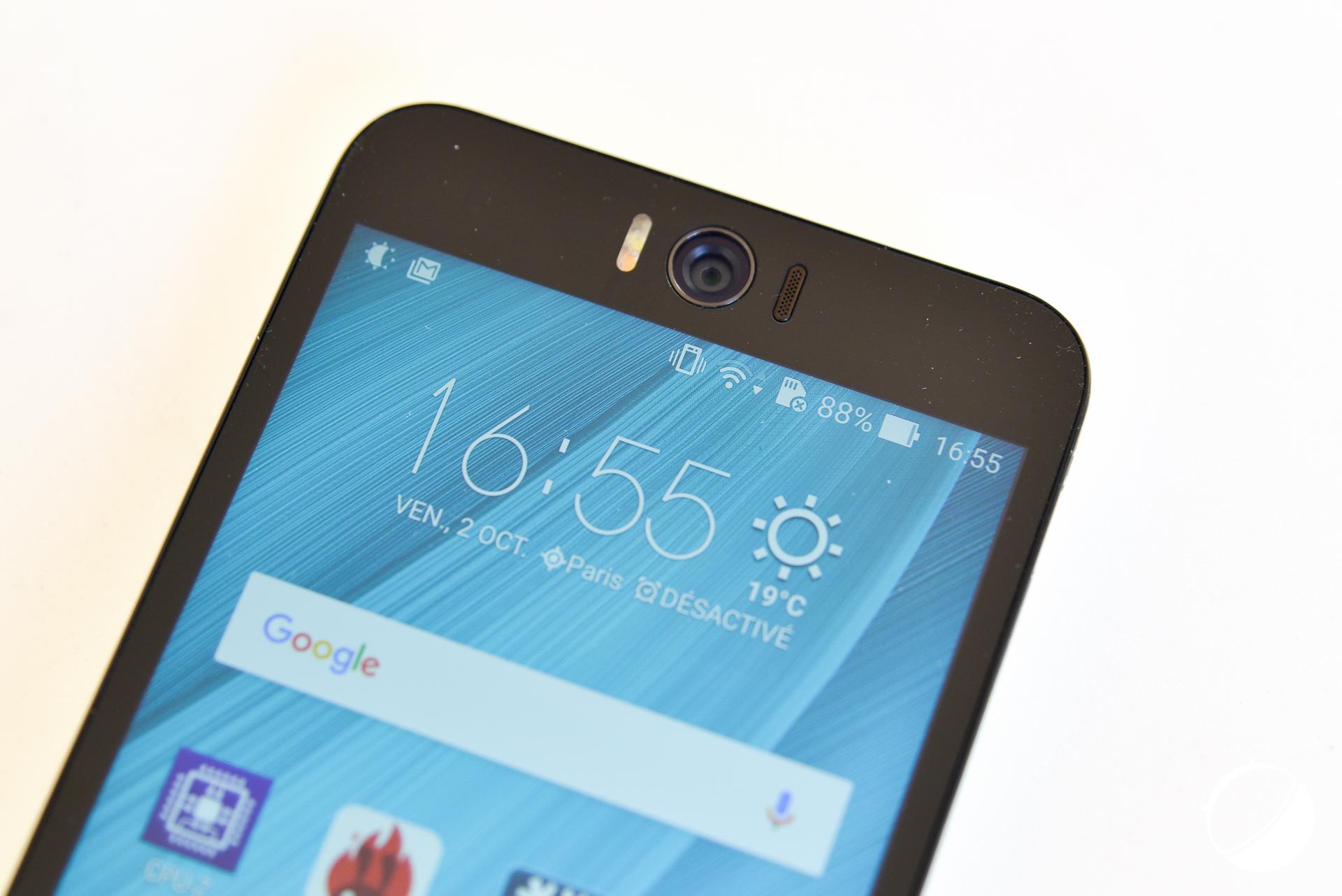 test asus zenfone selfie notre avis complet smartphones frandroid. Black Bedroom Furniture Sets. Home Design Ideas