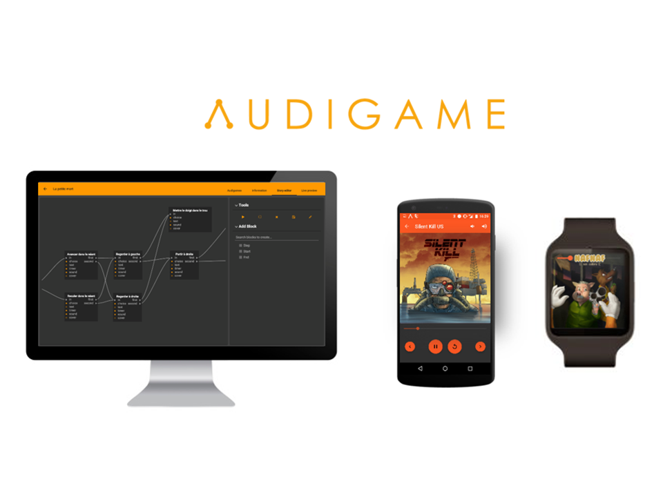 Audigame platforms