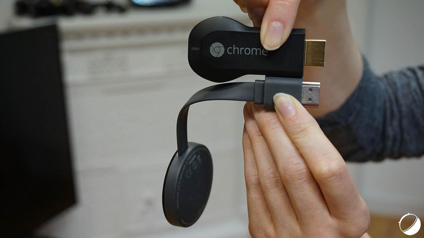 test google chromecast 2 notre avis complet android tv frandroid. Black Bedroom Furniture Sets. Home Design Ideas