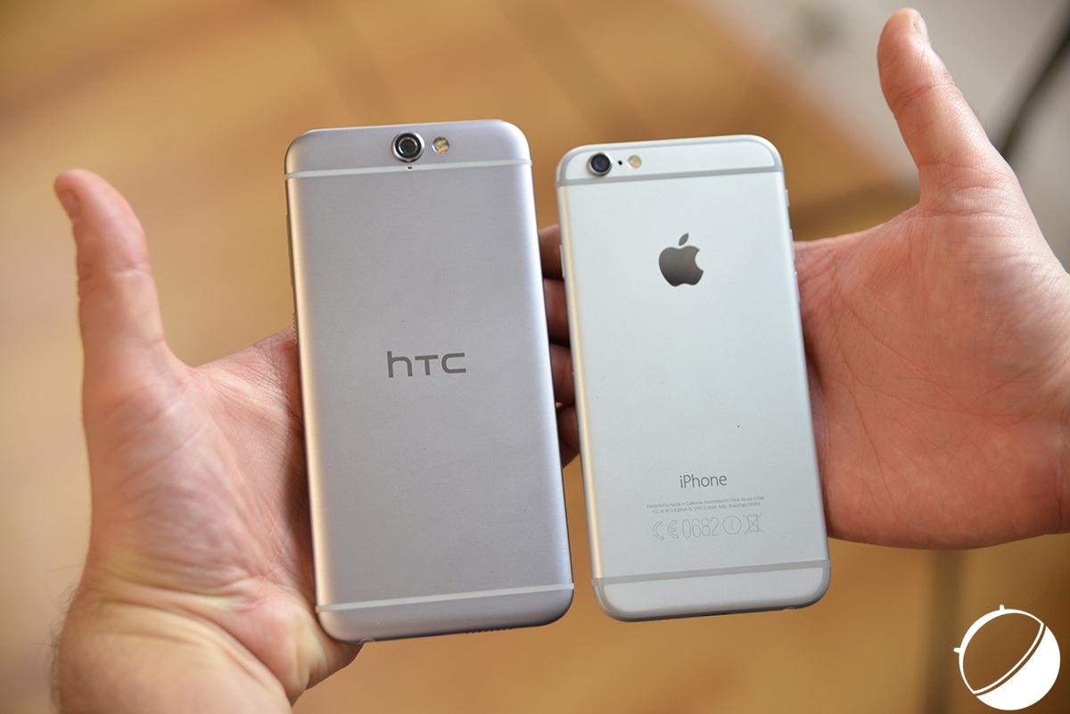 test du htc one a9 un iphone de milieu de gamme et sous. Black Bedroom Furniture Sets. Home Design Ideas