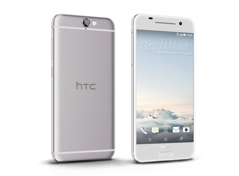 HTC One A9_Aero_PerRight_Argent