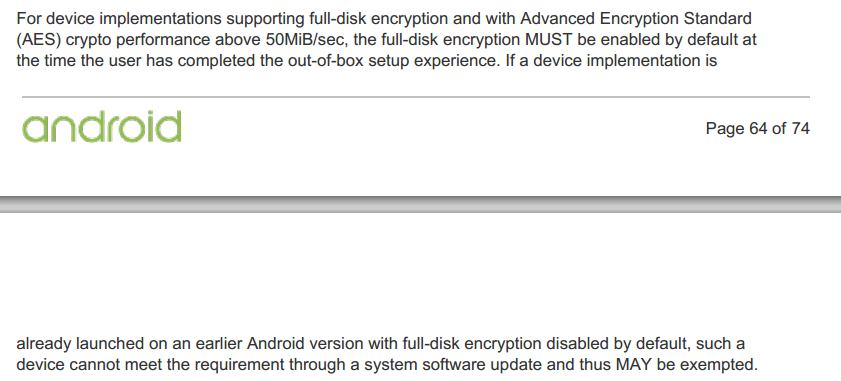 aes encryption android