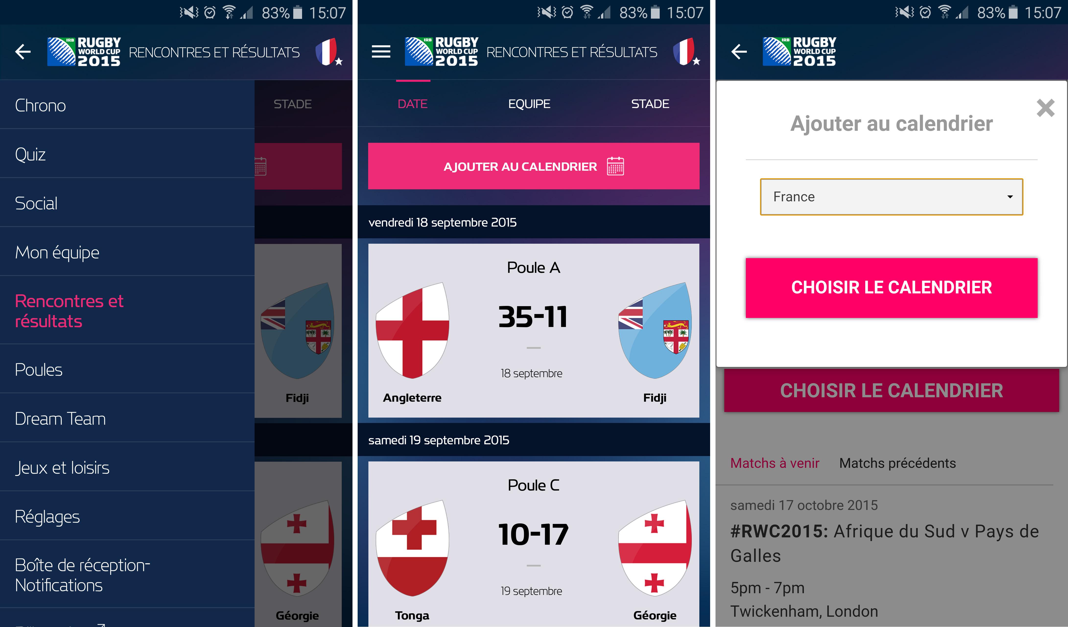 Coupe monde rugby 2015 - Calendrier de la coupe du monde de rugby 2015 ...