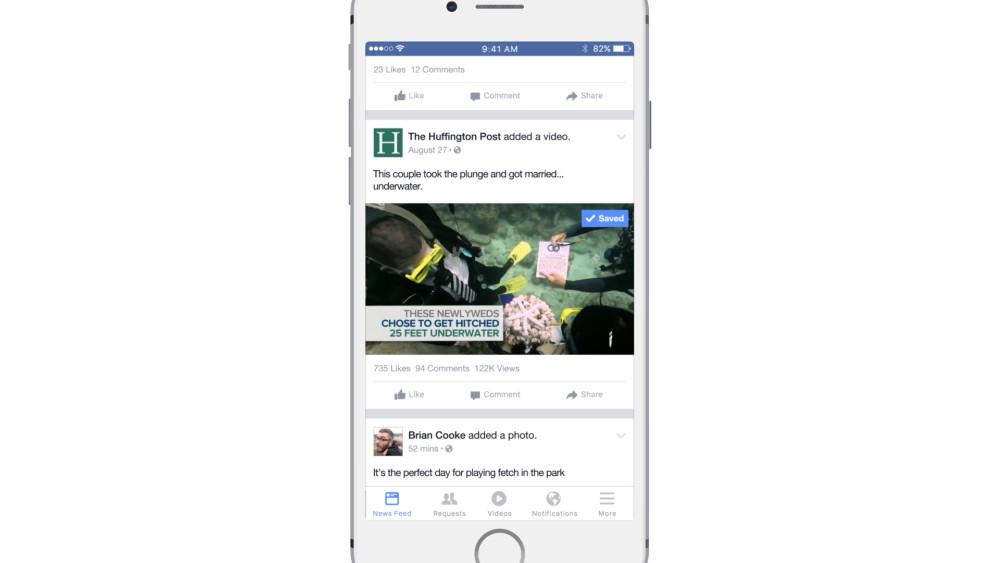 facebook video sauvegarde