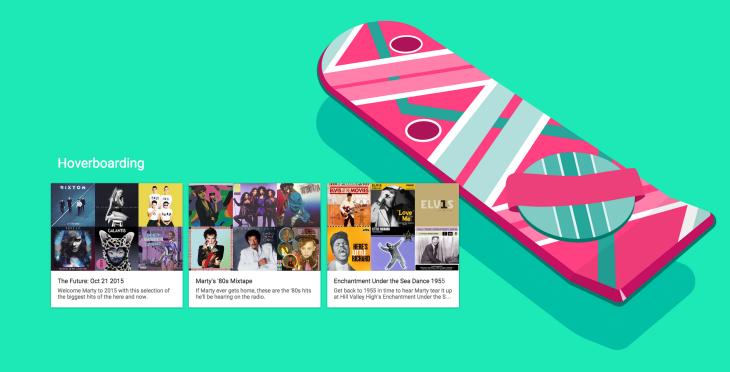 google-play-musique-retour-vers-futur