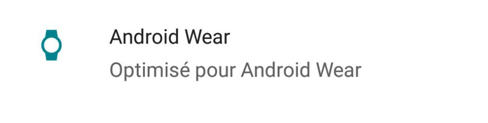 icone android wear play store