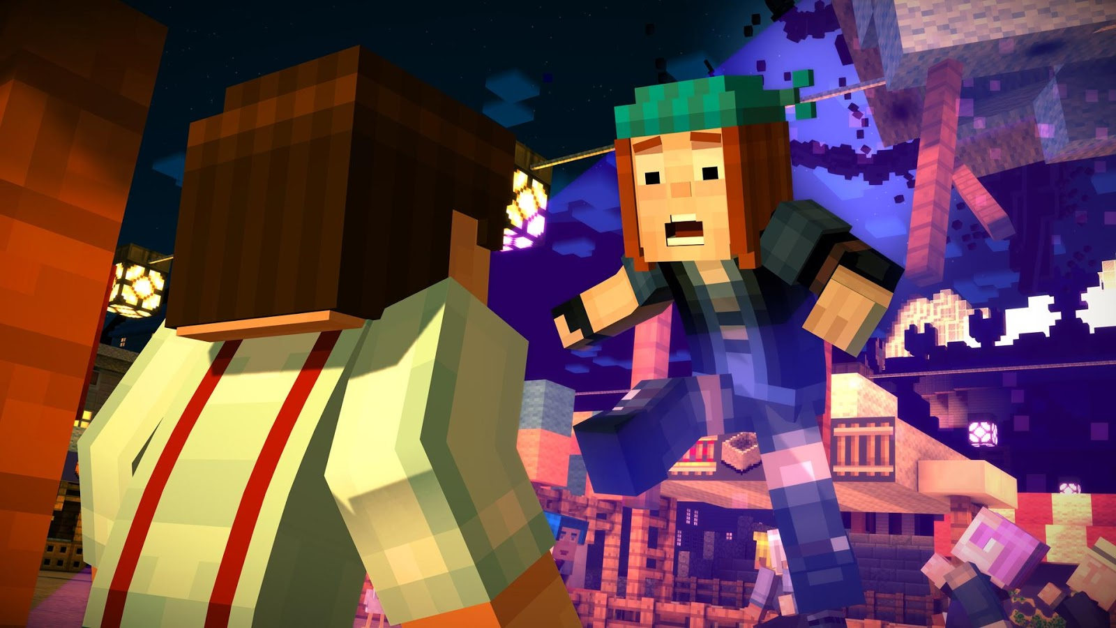 story mode Minecraft: story mode will be an all-new narrative-driven game series developed by telltale in collaboration with mojang set in the world of minecraft, the series.