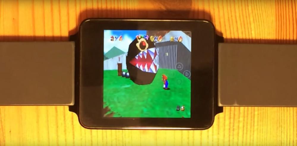Android wear un fan parvient lancer un mulateur nintendo 64 sur sa lg g watch frandroid - Emulateur console android ...