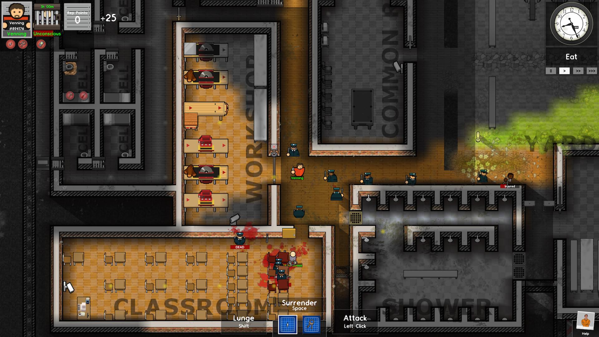 Prison architect la version tablette dans le flou for Jail architect