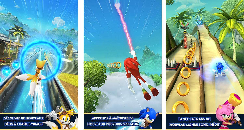 Sonic dash 2 sonic boom se lance au pas de course sur le - Telecharger sonic gratuit ...