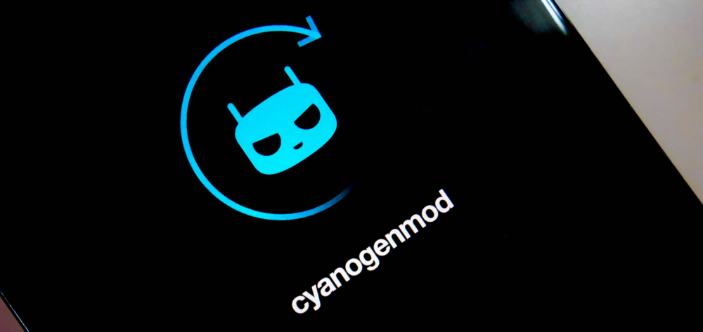 CyanogenMod, animation de démarrage