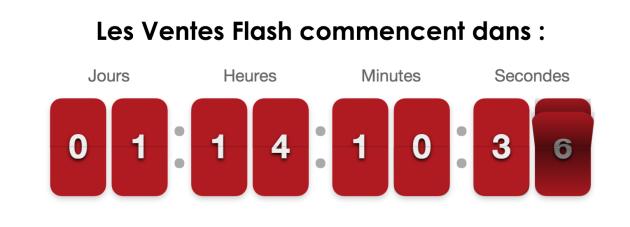 Ventes Flash sur le site VMall.eu