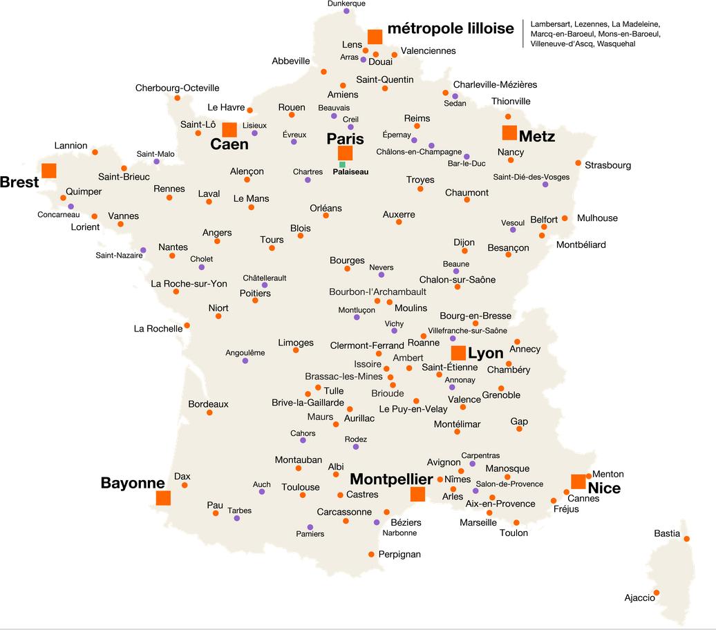 Nombre De Direction Ville De Paris