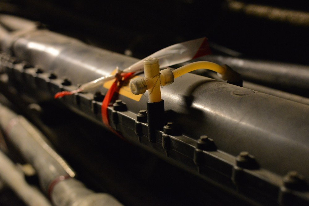 Module avec lequel on injecte de l'air pour localiser un problème sur le réseau cuivre