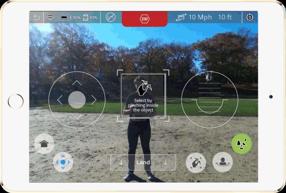 Neurala-Selfie-Dronie-Screen-Shot-In-Park-1024x692