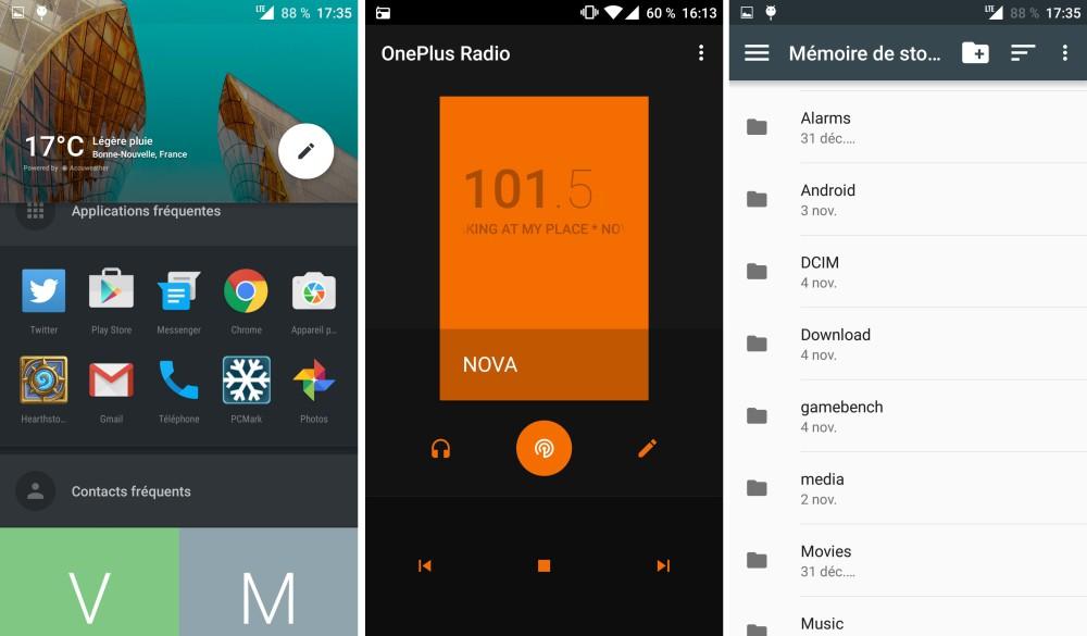 OnePlus X logiciel 3
