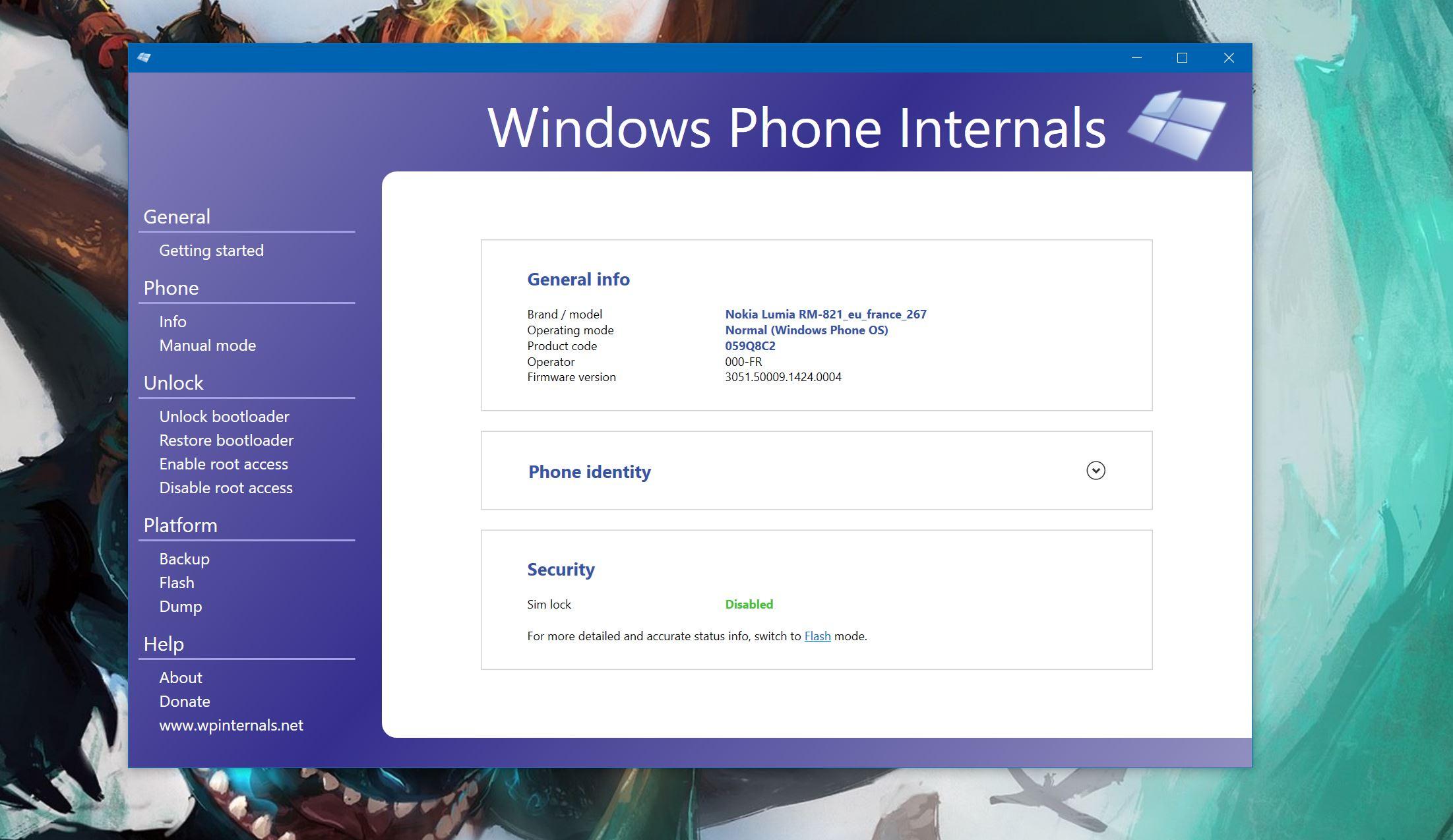 Bootloader déverrouillé : bientôt Android sur les Lumia de
