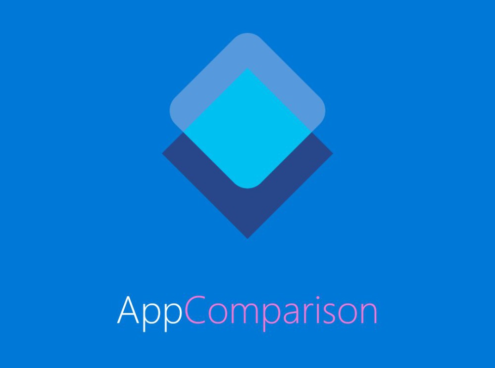 app comparion windows android