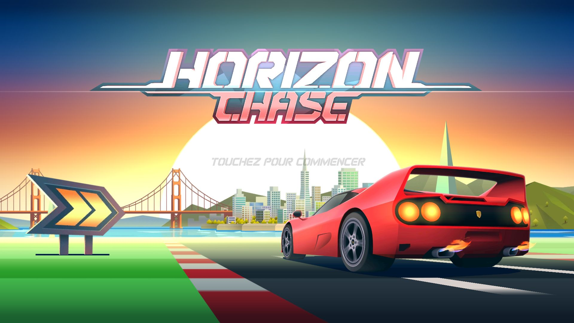 horizon chase la course de voiture fa on ann e 90 est disponible sur android frandroid. Black Bedroom Furniture Sets. Home Design Ideas