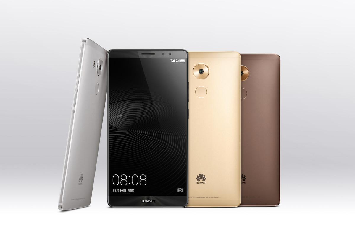 Le Huawei Mate 8 est officiel : Android Marshmallow et Kirin 950 au ...