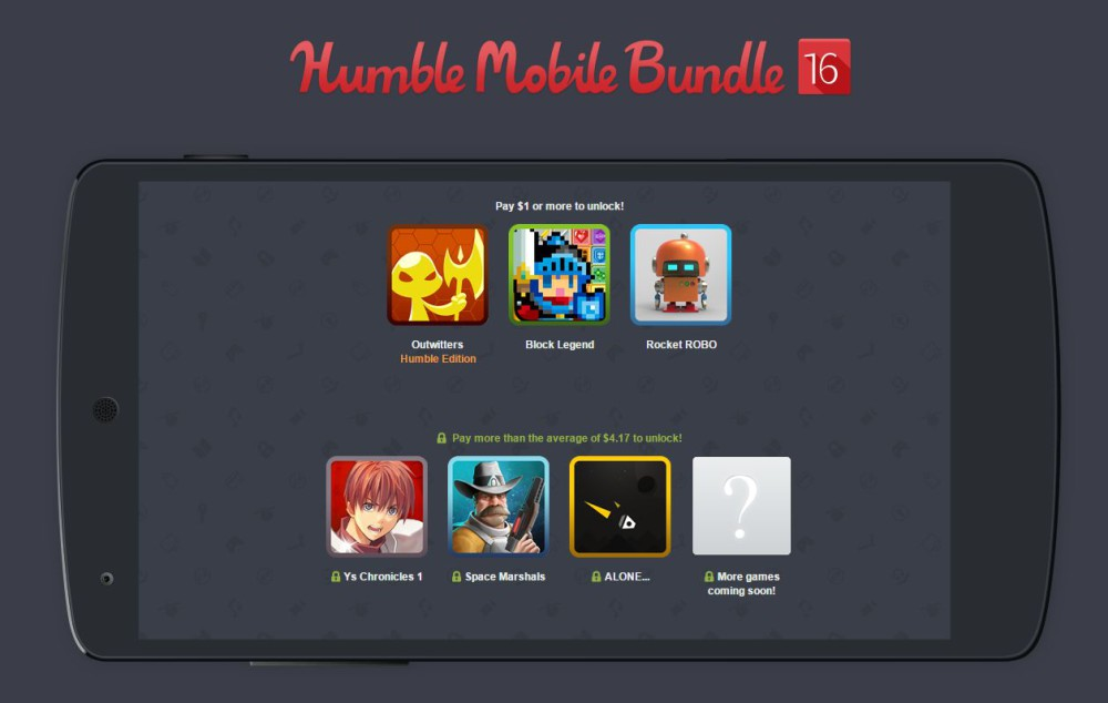 humble mobile bundle 16