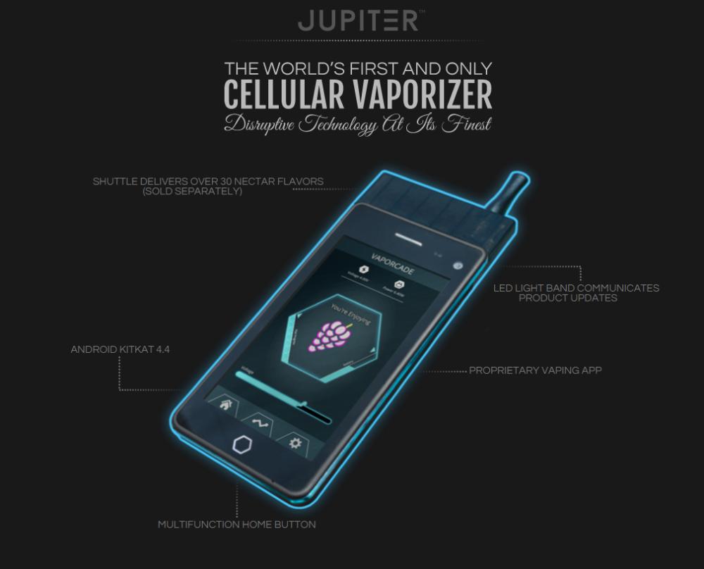 jupiter smartphone cigarette