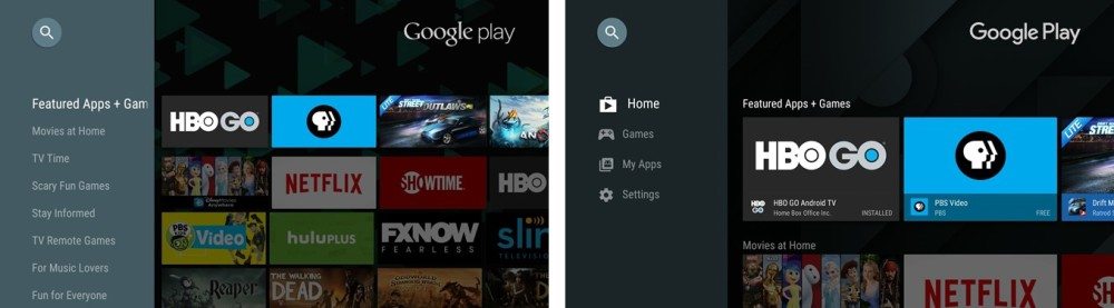 play store android tv 1