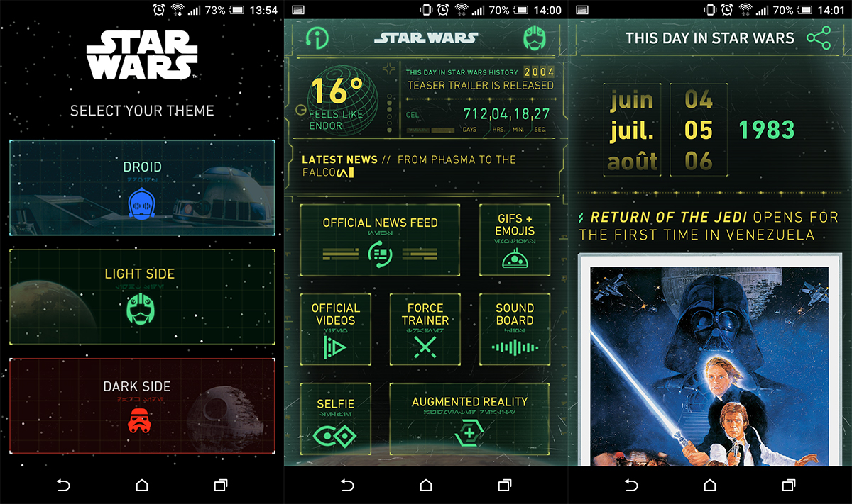 Download star wars apps for Android - androidfreeware.net