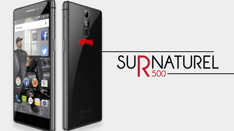 surnaturel r500 le smartphone selon rohff frandroid. Black Bedroom Furniture Sets. Home Design Ideas