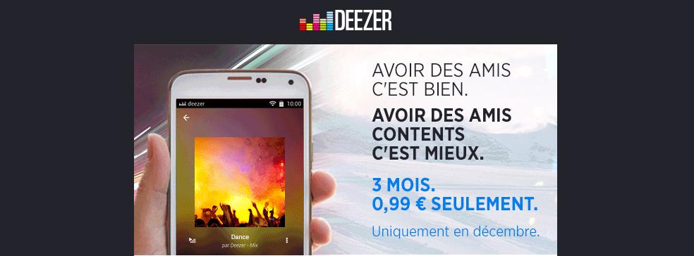 Deezer promo