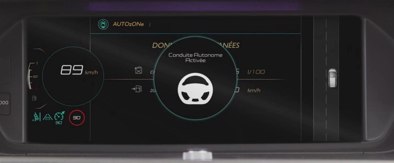 PAS-Citroën voiture autonome