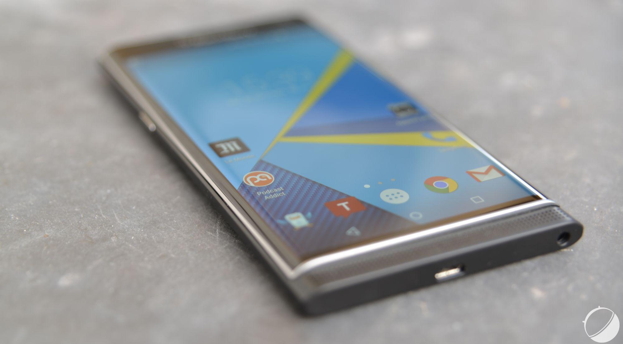 Test blackberry priv notre avis complet smartphones for Photo ecran blackberry