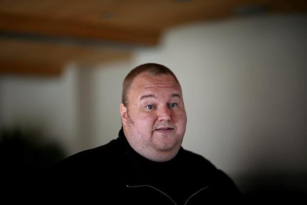Kim Dotcom, fondateur de Megaupload