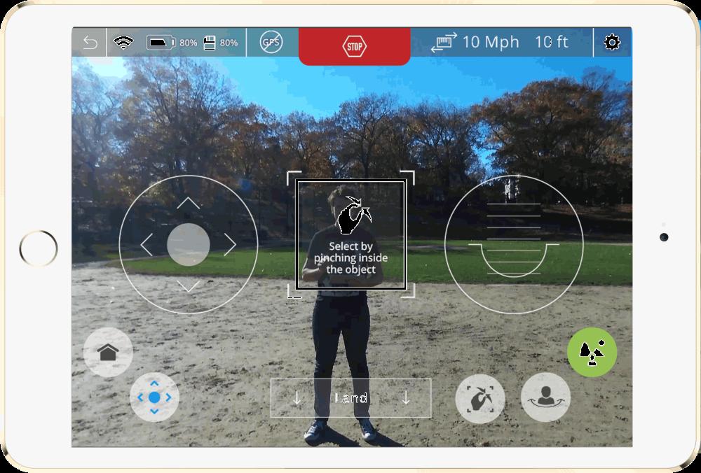 Neurala-Selfie-Dronie-Screen-Shot-In-Park