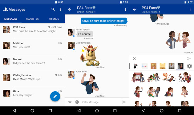 playstation-messages