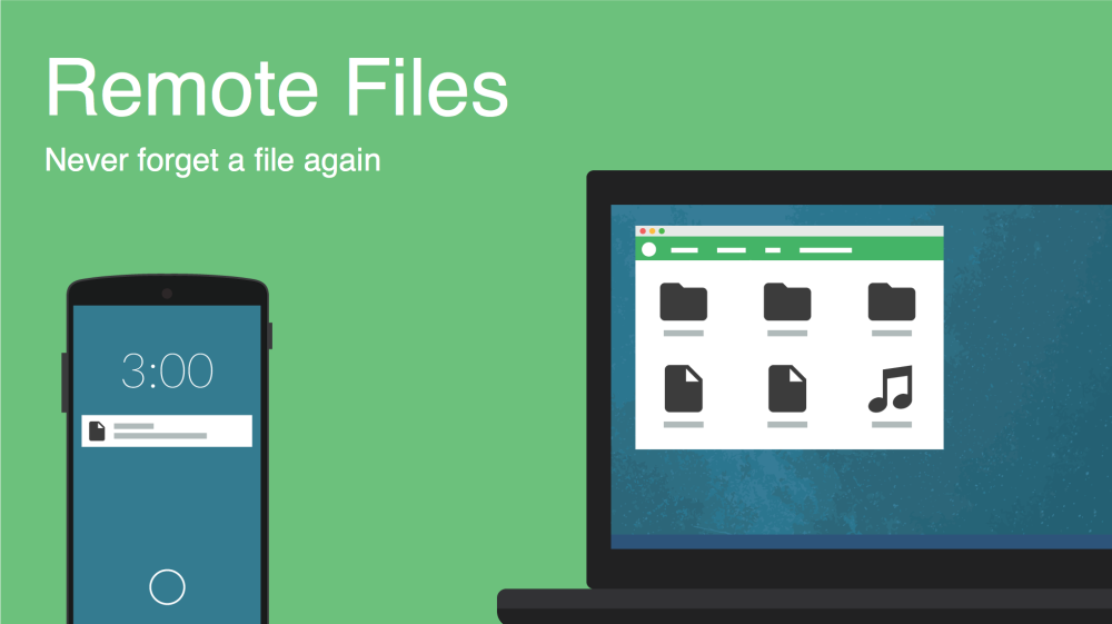 pushbullet remote files