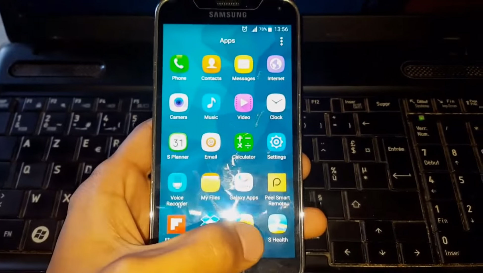 Un utilisateur du Samsung Galaxy S5 reçoit Marshmallow ...