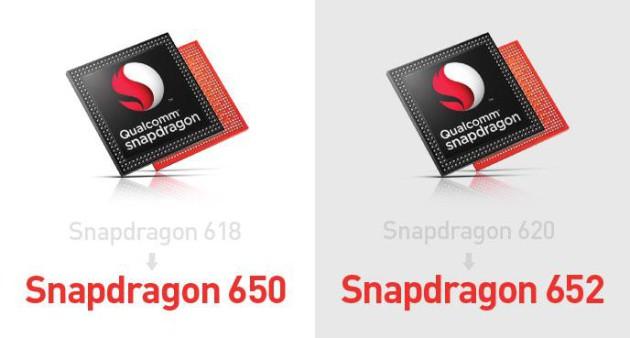 Snapddragon 650 652