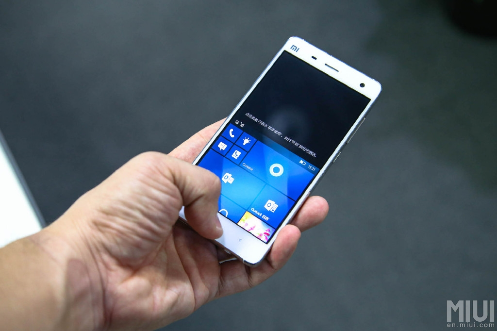xiaomi mi 4 windows 10 mobile 4