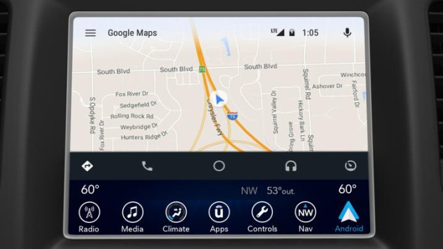 android auto fiat