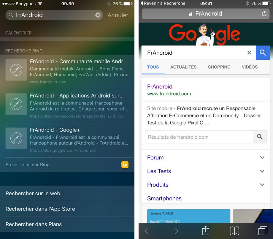 La Recherche Google Sur Un Iphone A Un Prix 1 Milliard De