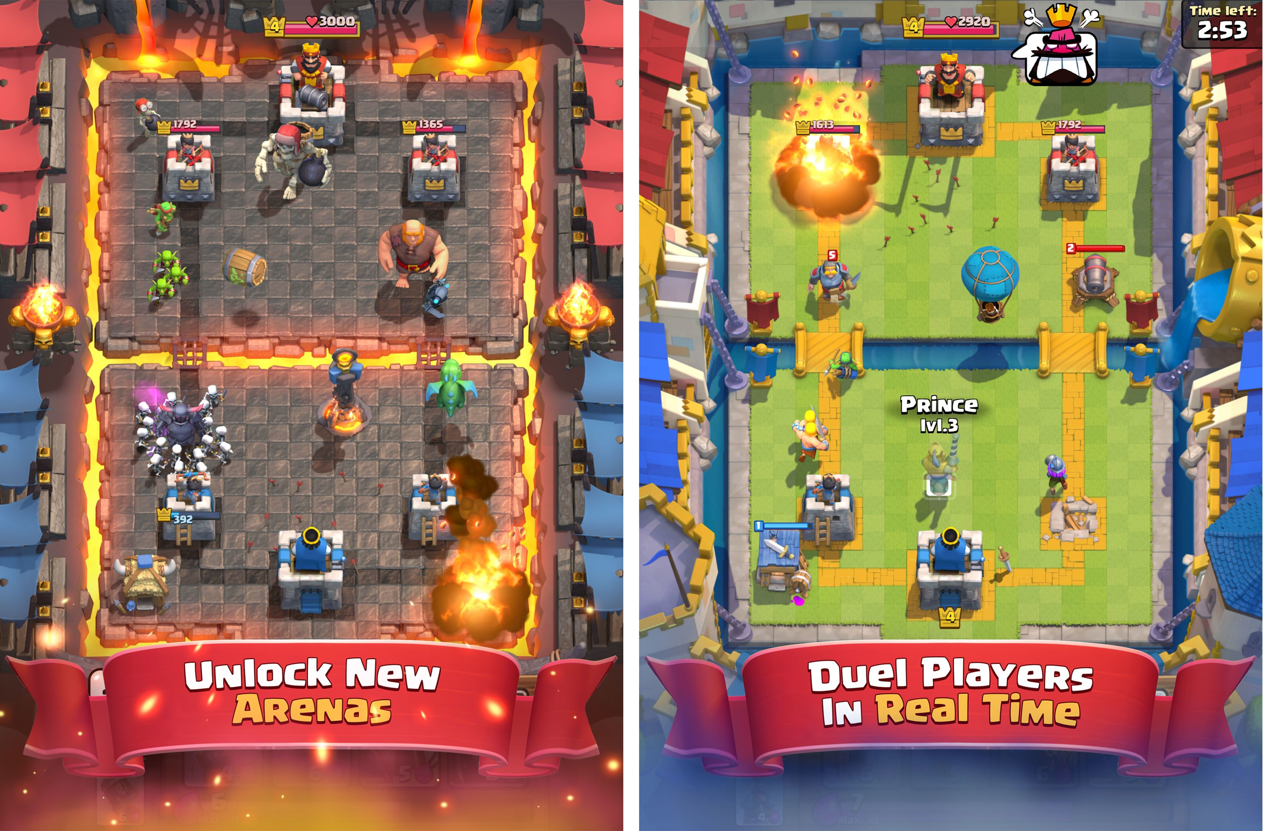 jeux de clash royal