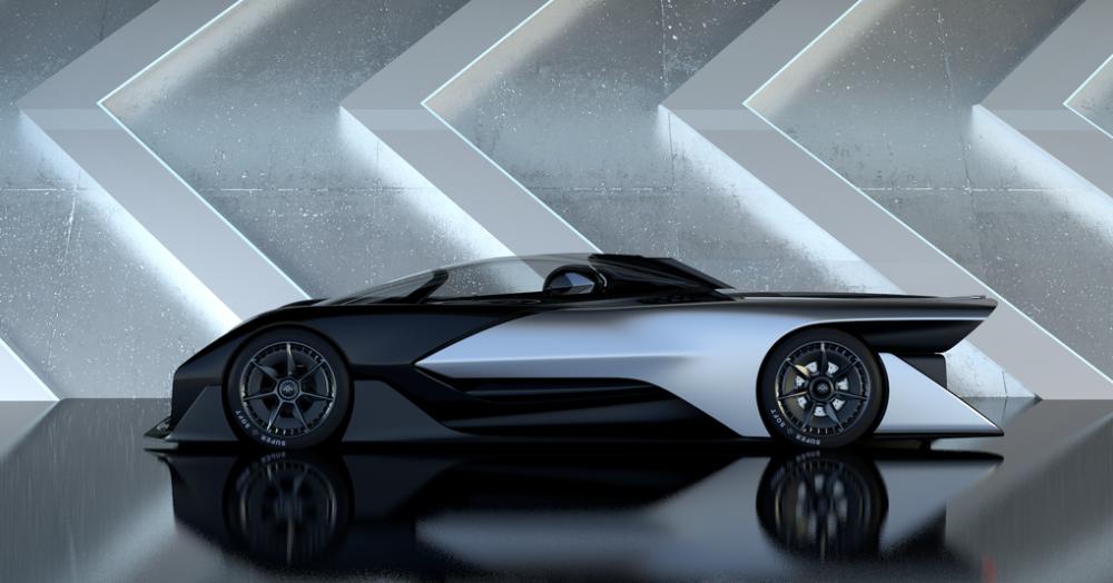 faraday future ffzero 1  l u0026 39  u00e9nigmatique voiture venue de