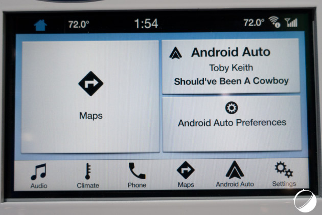 Ford Android Auto (1 sur 4)
