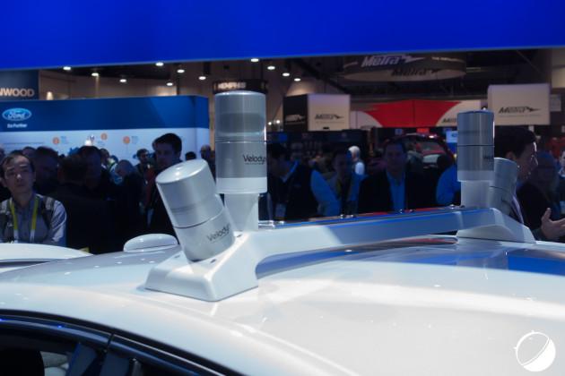 Des LIDAR sur une Ford Mondeo